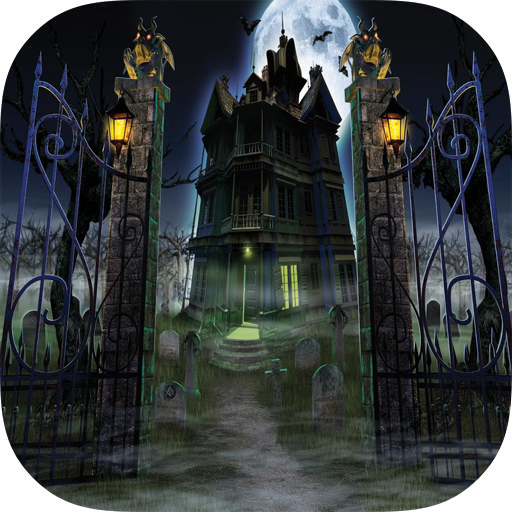 Haunted House Live Wallpaper V12