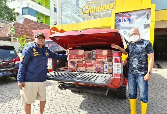 Lagi, KSOP Pulang Pisau Salurkan Bantuan untuk Korban Banjir Kalsel