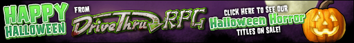 Halloween DriveThruRPG Sales Banner