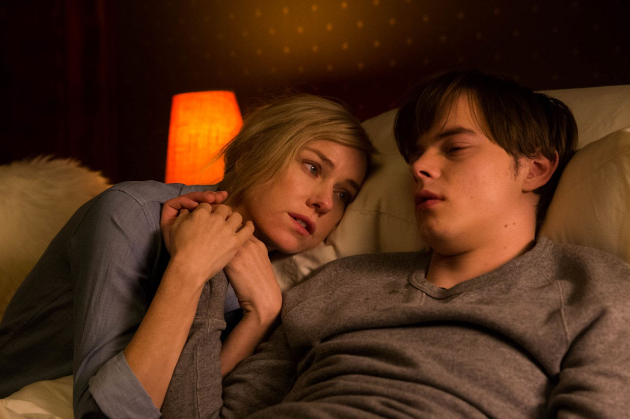 Naomi Watts and Charlie Heaton star in SHUT IN. (Photo by Jan Thjs / courtesy of EuropaCorp).