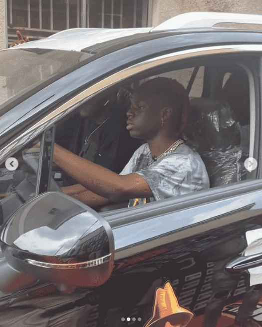 CONGRATULATIONS!! Rema Finally Receives Up His Next Rated Award Car From Headies (Photos And Video)
