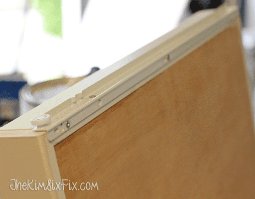 Adding Euro Style Drawer Slides To Cabinet Pull Out