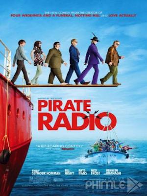 Phim Đài Cấm - Pirate Radio (2009)
