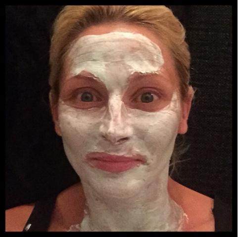 Kör en avatar.... Ansiktsmask ☺️