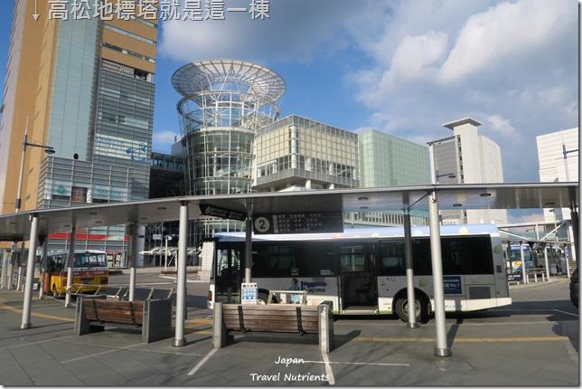 高松 無料免費展望台和高松港 (1)