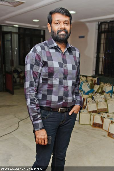 Vasanth arrives for Kaushik and Urmitapa's wedding ceremony, held in the city recently.