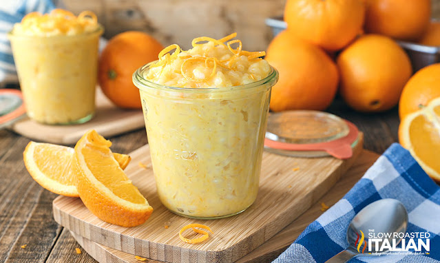 Orange Creamsicle Rice Pudding