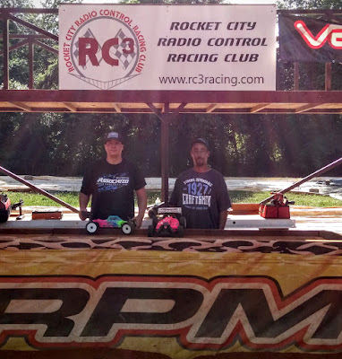 1/8 Electric Buggy Pro 1st: Steven Froghorn 2nd: Javier Caballero 3rd: Terry Pe
