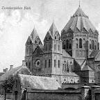 1909 7 juli verstuurd  Kerk vanuit Kerkstraat_BEW.jpg