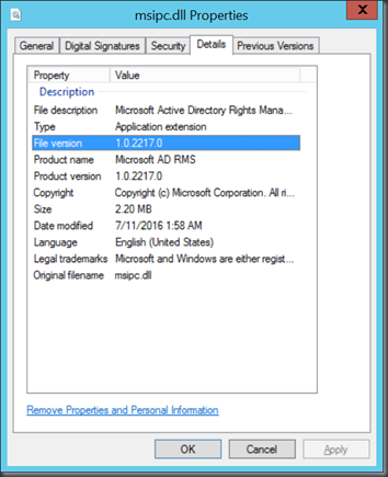 My System Center & EM+S Experience: Azure RMS Connector and