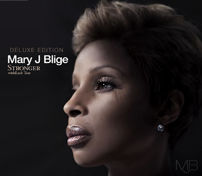 mary j blige stronger with each tear album cover. album mary j blige stronger