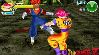 NOVO! MOD DRAGON BALL Z SUPER STYLE BT3 MOD TENKAICHI TAG TEAM PARA ANDROID E PC (PPSSPP) + DOWNLOAD