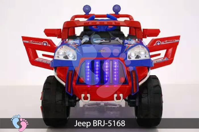 Xe oto điện cho bé Jeep BRJ-5168 14