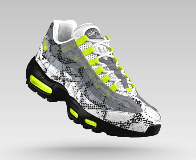 NIKE AIR MAX 95 Nike iD 新作