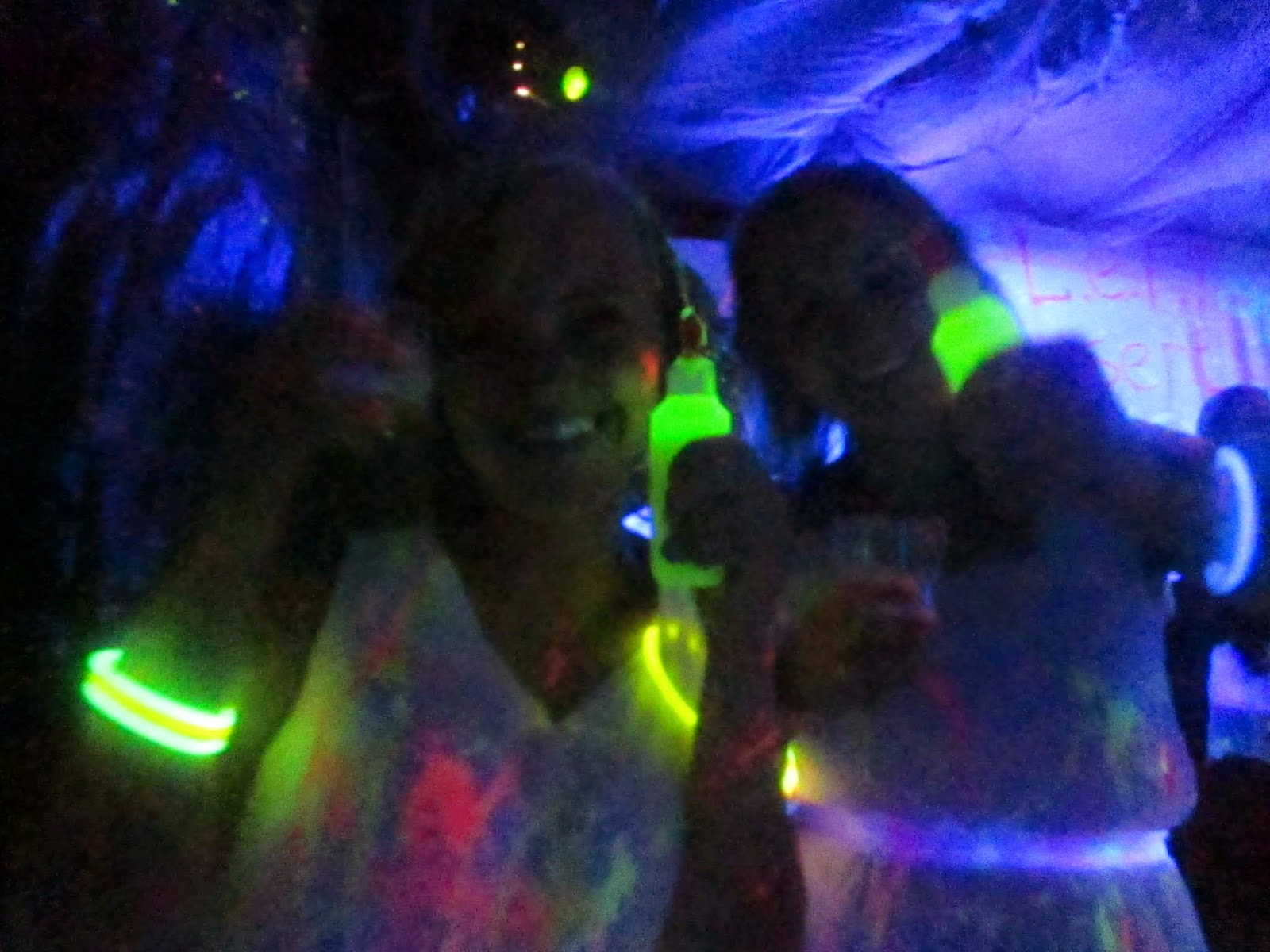 Blacklight party