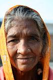 A local village woman