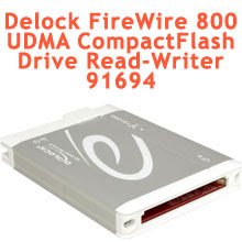 Delock FireWire 800 to UDMA CompactFlash Drive Read-Writer 91694.