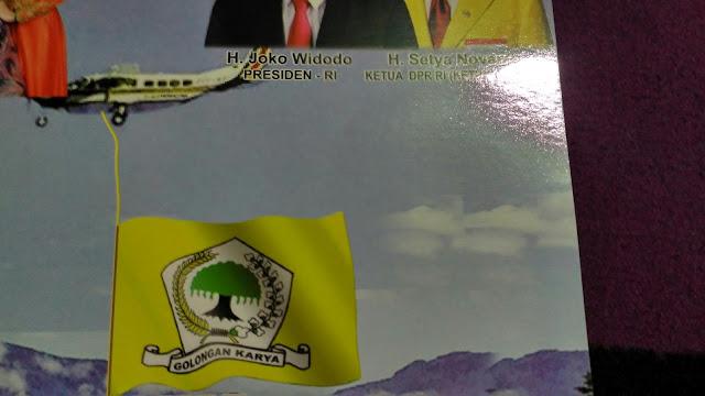 Bendera Yang Diseret Pesawat