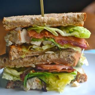 Bacon-Avocado Caesar Salad Sandwich.