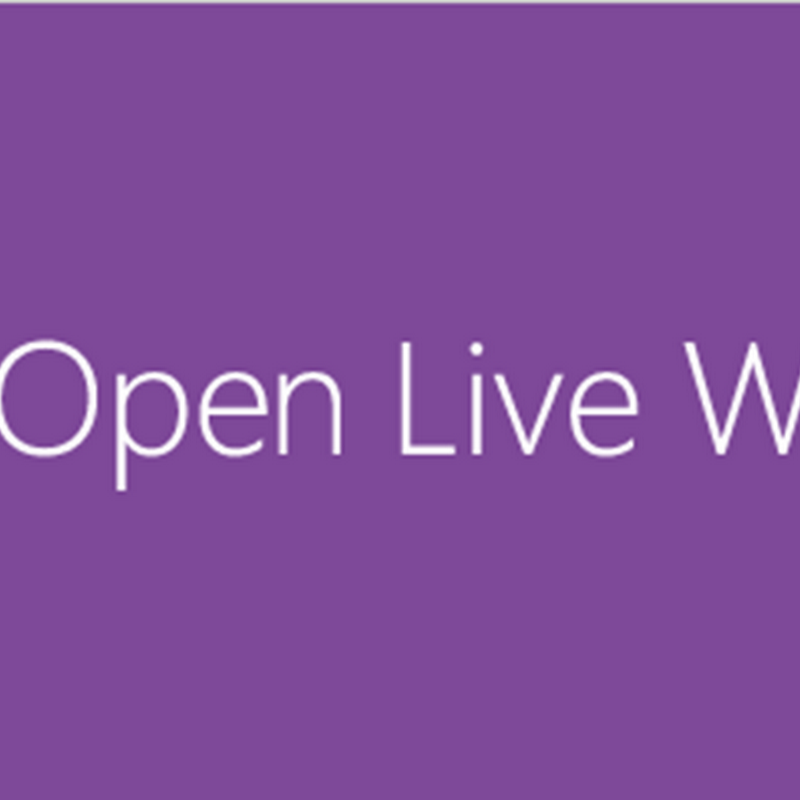 Open Live Writerを使う