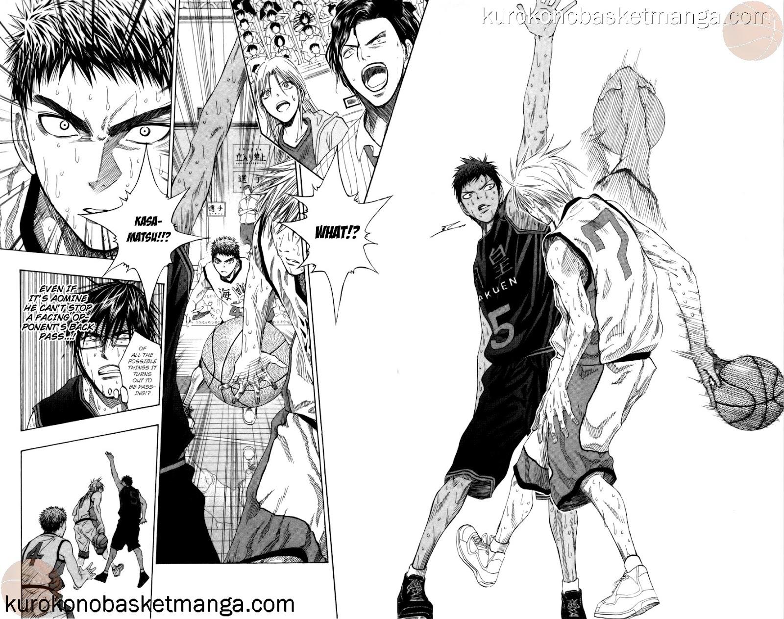 Kuroko no Basket Manga Chapter 72 - Image 06-07
