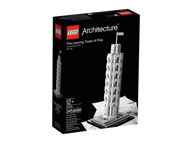 21015 レゴ アーキテクチャー ピサの斜塔