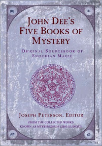 Cover of John Dee's Book Five Books Of Mystery Mysteriorum Liber Primus