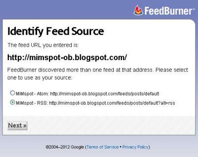 Identifikasi Sumber Daya feed