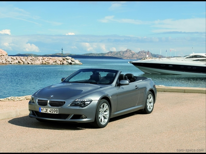 2009 bmw 6 series coupe specifications pictures prices. Black Bedroom Furniture Sets. Home Design Ideas