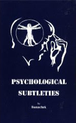 Cover of Banachek's Book Psychological Subtleties