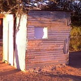 Tuck shop made from shipping container