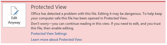 Protected view adalah kondisi dimana file microsoft word tersebut tidak bisa di edit / istilahnya write dan kita hanya bisa mendapatkan akses read only atau hanya bisa melihat. Ini terjadi karena biasanya microsoft word mendeteksi adanya virus di dalam laptop kita sehingga dilakukan proteksi ke dalam file tersebut. Lalu bagaimana cara mengatasinya?