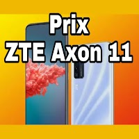 Prix  ZTE Axon 11 4G 128 Go 8 Go RAM neuf