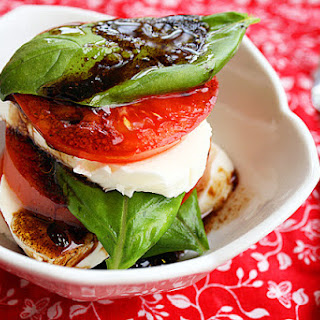 Caprese Salad with Balsamic Dressing