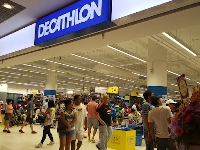 The Decathlon store at City Square Mall, taken on 21 May.