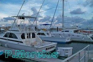 Puerto Morelos Fishing boats & Catamaran