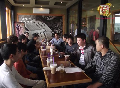 FPT Online gặp mặt các cao thủ Tam Quốc Chiến tại HN 3