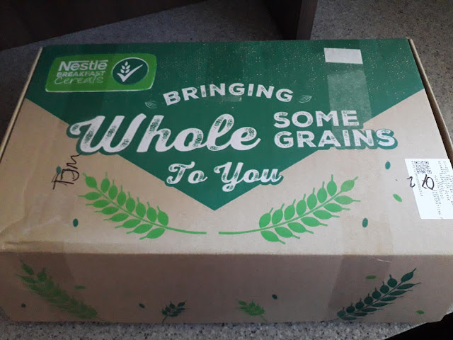 Nestle Breakfast Cereals Box