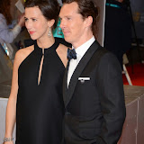 OIC - ENTSIMAGES.COM - Benedict Cumberbatch and fiancee Sophie Hunter at the EE British Academy Film Awards (BAFTAS) in London 8th February 2015 Photo Mobis Photos/OIC 0203 174 1069