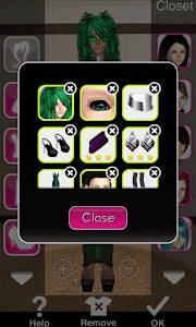 Click to Enlarge - Style Me Girl Level 27 -  Envy - Layla - Closet