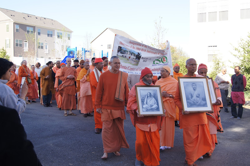 Day 2 Procession in the Vedanta Center Campus