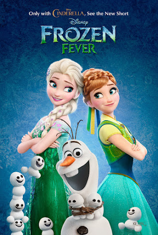 The new Disney short Frozen Fever, which plays just before #Cinderella