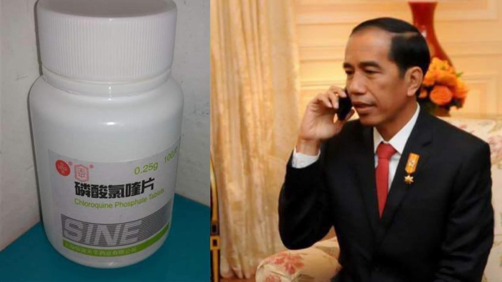 Spesialis Sebut Obat Corona yang Dipesan Jokowi hanya Peringan Gejala