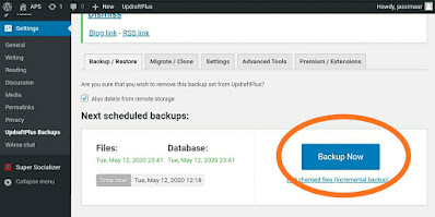 How to Backup Your WordPress Website 2020