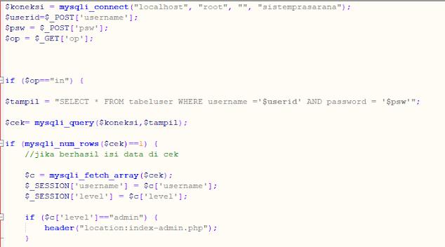 Contoh Script php