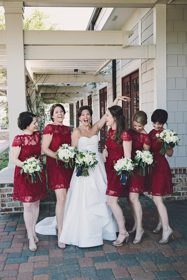 Chic Princess Anne Country Club Military Wedding