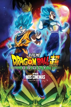 Capa Dragon Ball Super – Broly (2019) Dublado Torrent