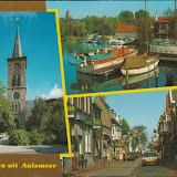 Ansichtkaarten ( meerluik kaarten ) Groeten uit ..... Noord Holland.