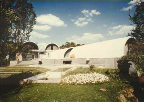 Perspective view of sangath