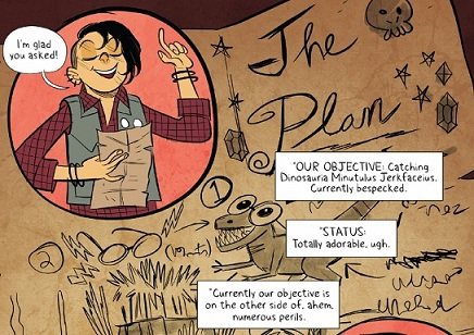 Lumberjanes: Mal explains her plan